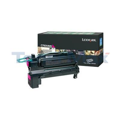 LEXMARK C792 PRINT CART MAGENTA XHY RP TAA